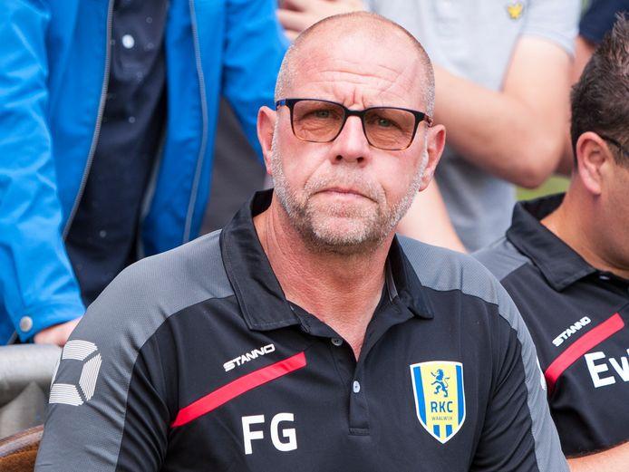 Fred Grim, de trainer van RKC Waalwijk.