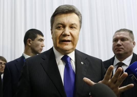 ...tout comme celles du président Viktor Ianoukovitch