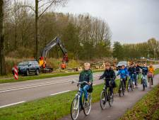 Bomen wijken voor wegwerkzaamheden aan N214
