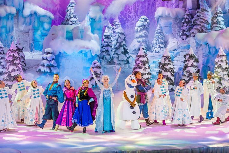 Een magische kerstshow
