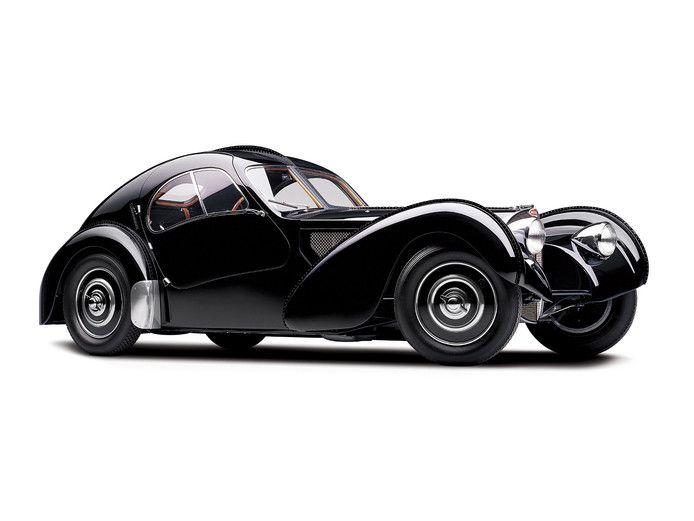 Het oorspronkelijk model waarop de splinternieuwe Le Voiture Noire is gebaseerd.
