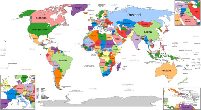De 196 landen die door de VN worden erkend. Alford bezocht ze allemaal.