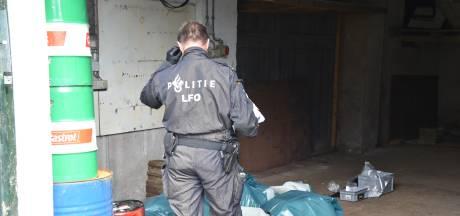 XTC-lab aangetroffen in Dodewaard
