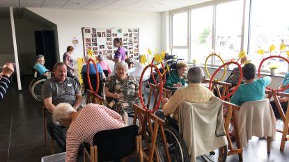 Rusthuisbewoners Sint-Jozef zetten sportiefste beentje voor