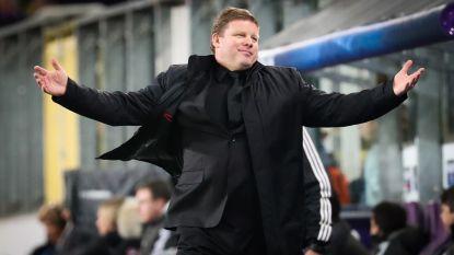 """Vanhaezebrouck: """"Het kot zou moeten ontploffen na de eerste helft, nu bleef het stil bij de fans"""""""