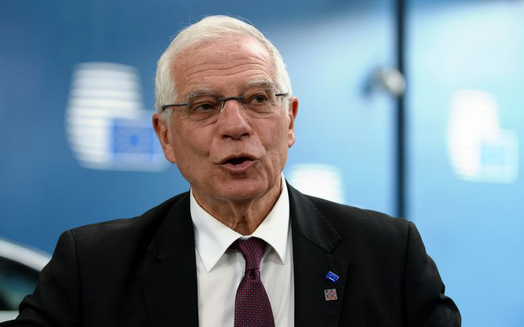 Josep Borrell, vicevoorzitter van de Europese Commissie.  Beeld REUTERS