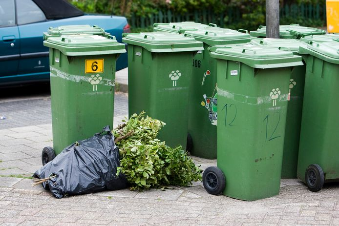 De groene kliko wordt in Oosterhout vaker opgehaald in de zomermaanden.