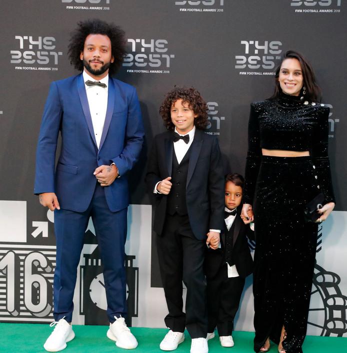 Marcelo en zijn gezin.