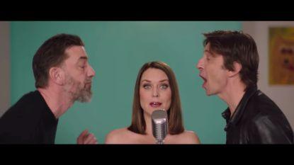"""Eva Jane wijst Kris Wauters af in videoclip: """"Maar hij blijft mijn favoriet"""""""