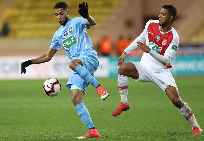 Adama Traoré (rechts) komt Cercle op huurbasis versterken.