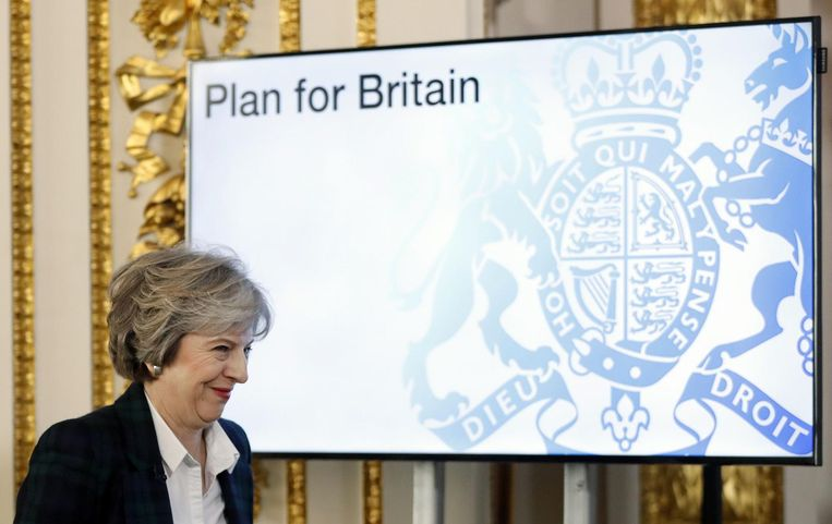 Premier Theresa May Beeld afp