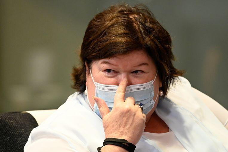 Het plan kwam er op initiatief van minister van Volksgezondheid Maggie De Block.