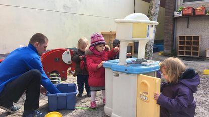 Campagne om baby's buiten te laten spelen
