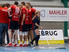 Gladde vloer leidt tot voortijdig einde aan volleybalduel tussen ZVH en Dynamo