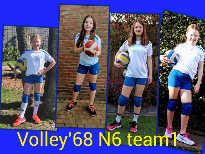 Ongekroonde Kampioenen: Volley'68 N6 1