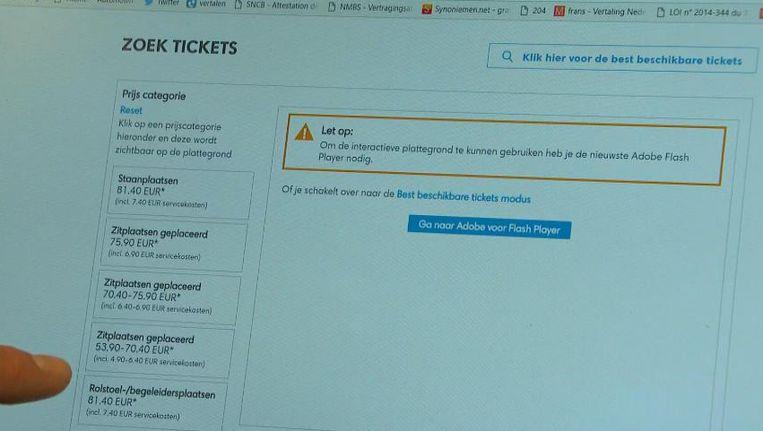48bdc00ba66 Test-Aankoop klaagt ticketsite aan   De Morgen