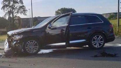 Peperdure Audi van Antwerpse politie in de prak gereden bij interventie