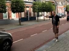 Hardrijders in de Hoogstraat in Eindhoven moeten remmen voor Stephan