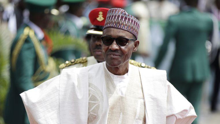 President Buhari. Beeld ap