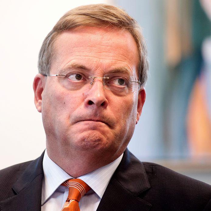 De afgetreden burgemeester Stefan Huisman van Oosterhout.