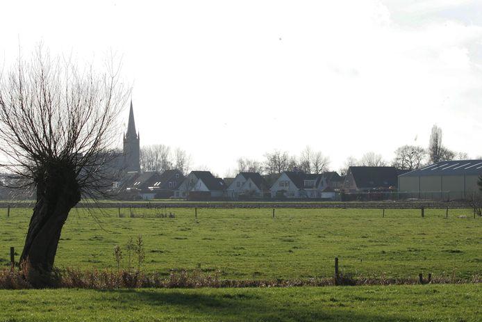 Een archieffoto met zicht op Boerhaar.