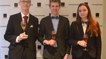 Oud-leerling van Sint-Jozefscollege wint prestigieuze Champagnewedstrijd