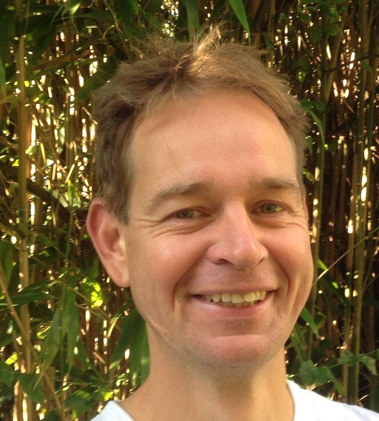 Guido van der Werf, hoogleraar mondiale koolstofcyclus. Beeld .