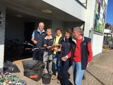 Bermen in Vaassen opruimen: Resultaat verbijstert vrijwilligers