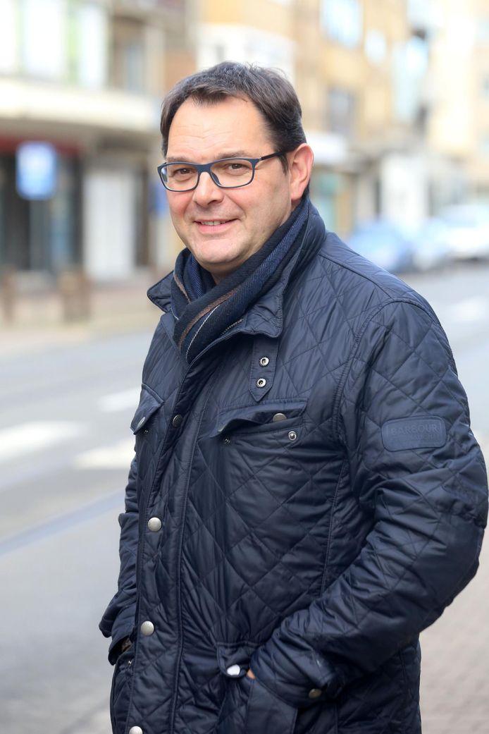 Voorzitter Bruno Dequeecker.