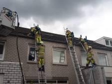 'Lastige' brand in spouwmuur van woning in Voordorp geblust