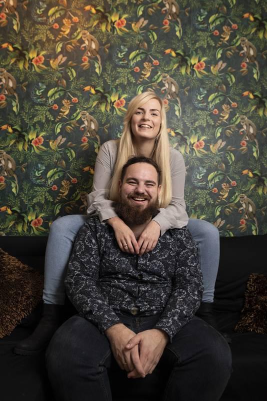 """George Brunner en Tiril Høvik trouwen op 20-02-2020. Een speciale datum, vindt vooral zij. """"Zij wilde heel graag op die dag trouwen. Ze vindt het een mooi geheel."""""""