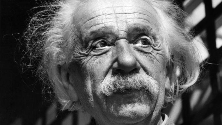 Albert Einstein in 1954. Beeld ap