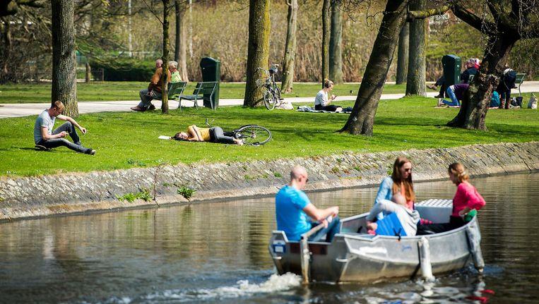 Nieuwe directeur, Liselore van der Heijden, doet een gooi naar de regie van de openbare ruimte in het Westerpark Beeld ANP