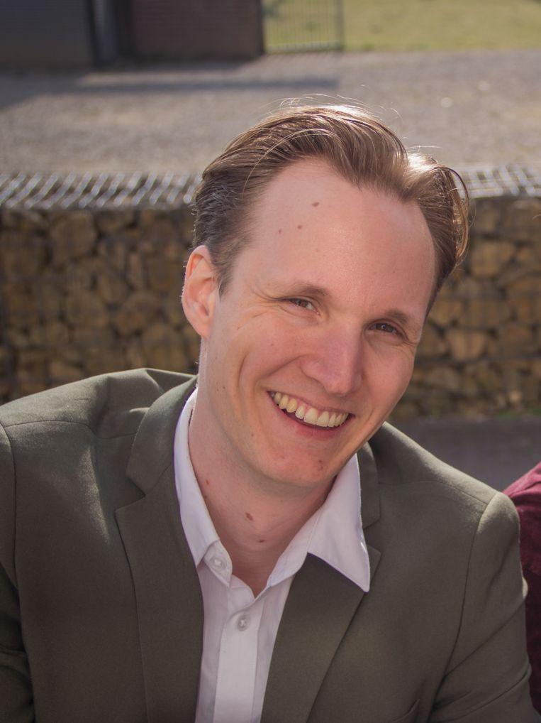 Game-onderzoeker Geert Verheijen van de Radboud Universiteit onderzoekt het effect van games op jongeren. Beeld