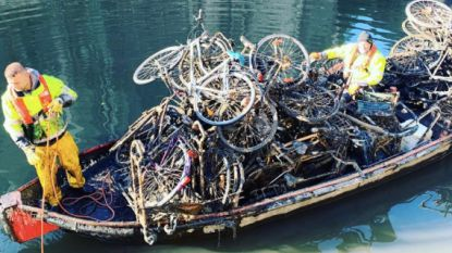 Typisch Gents: fietsvissen