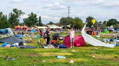 Achtergelaten kampeerspullen op Tomorrowland binnenkort te huur