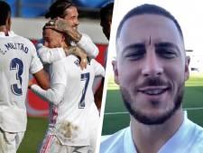 """Eden Hazard élu homme du match: """"Très heureux d'être de retour sur le terrain"""""""