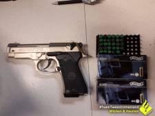 Maldenaar aangehouden na vondst van nét echt vuurwapen in woning