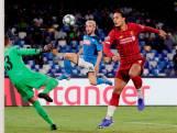 Valse start voor CL-winnaar Liverpool in Napels