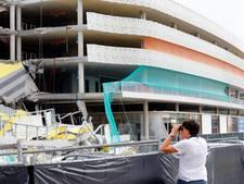 Onderzoeksraad onderzoekt instorten parkeergarage Eindhoven Airport