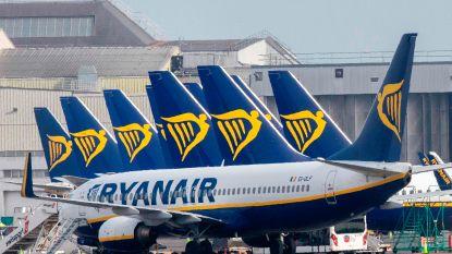 Ryanair houdt grootste deel van vloot tot eind mei aan de grond
