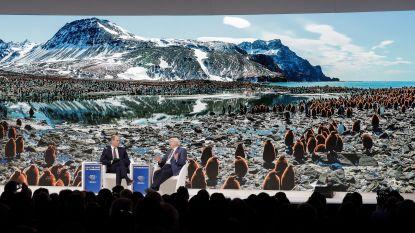 """""""Klimaatverandering groot gevaar voor wereldeconomie"""", maar wel recordaantal vluchten en privéjets voor Davos"""