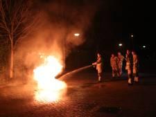 Container in de brand gestoken bij voetbalvereniging Veenendaal