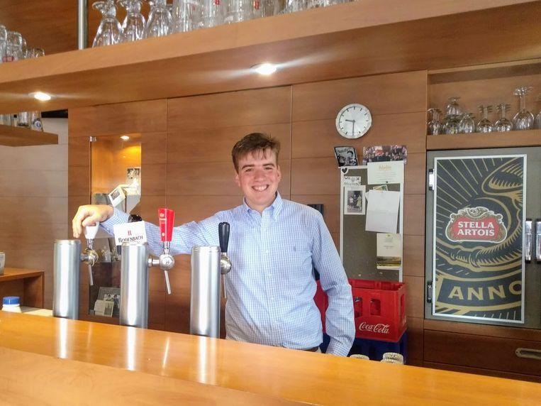 Arthur is de nieuwe cafébaas van De Vismarkt.