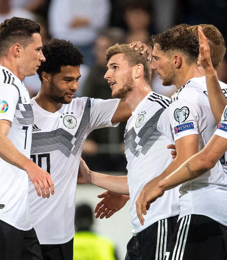 Swingend Duitsland walst in poule Oranje over hulpeloos Estland heen