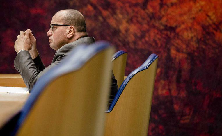 Fred Teeven is een voorstander van de verhoging van tipgeld Beeld anp
