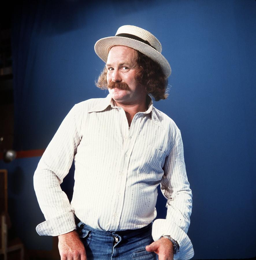 Portret van zanger Nico Haak.