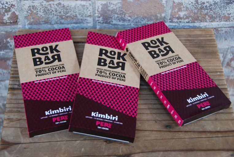 De Rokbar versterkt de financiële onafhankelijkheid van cacaoboerinnen, zodat ze zelf hun winst kunnen herinvesteren. Beeld TRBEELD