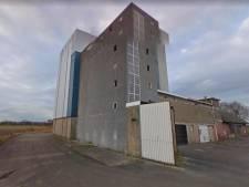 Plan voor appartementen in silo in Hancate