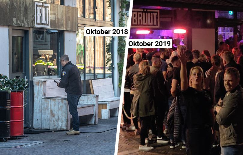 Bar Bruut in Zwolle, een jaar later